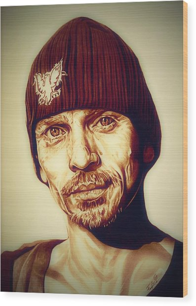 Breaking Bad Skinny Pete Wood Print