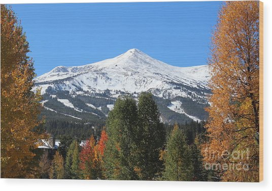 Breckenridge Colorado Wood Print