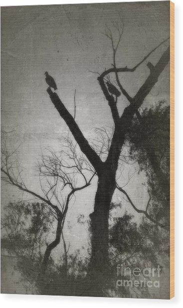 Brevity Of Life - No.4414v Wood Print