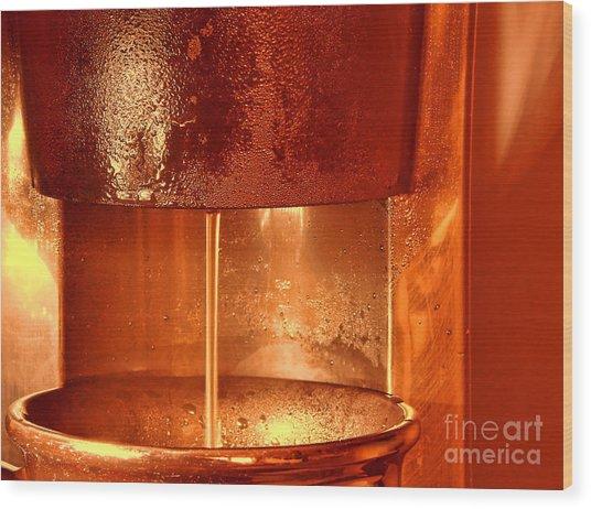 Brew Wood Print
