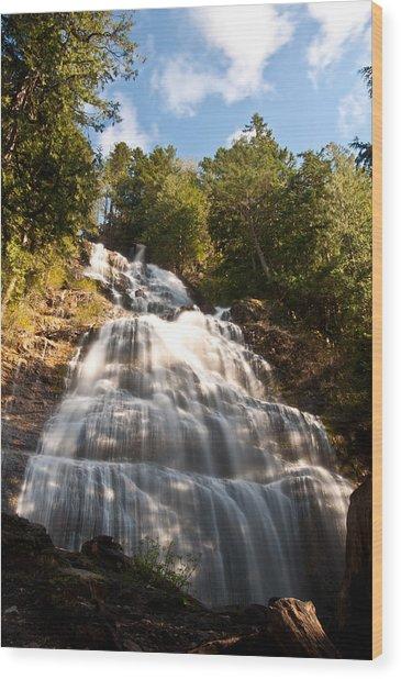 Bridal Veil Falls Wood Print