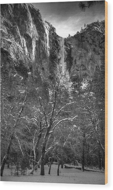 Bridal Veil Wood Print