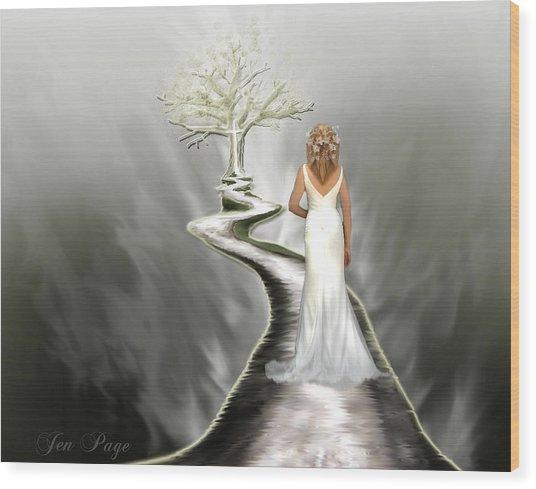 Bride Of Christ Wood Print