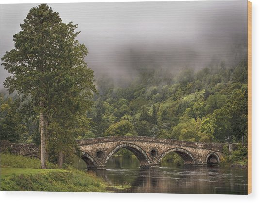 Landscape Wall Art Kenmore Bridge Wood Print