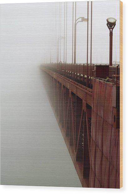 Bridge To Obscurity Wood Print