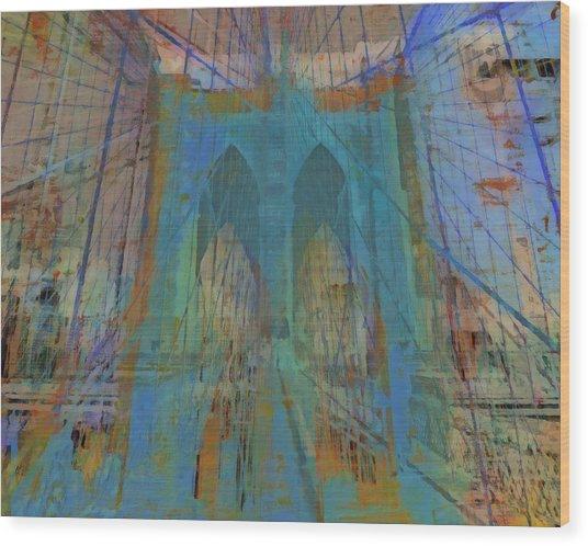 Urban View: Bridge Urban View Mixed Media By Ricki Mountain