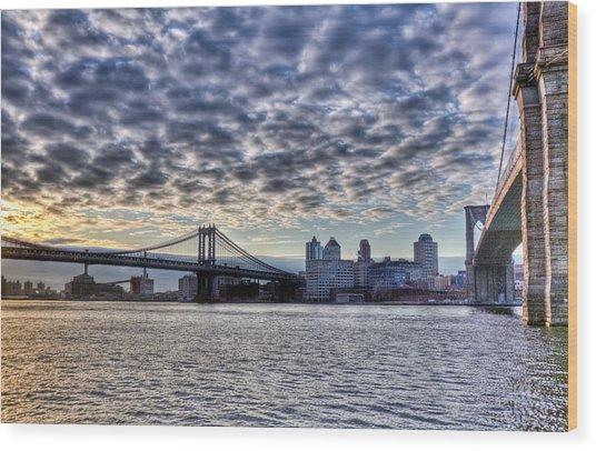 Bridges Of New York Wood Print