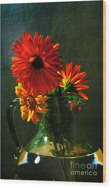 Bright And Dominant Wood Print