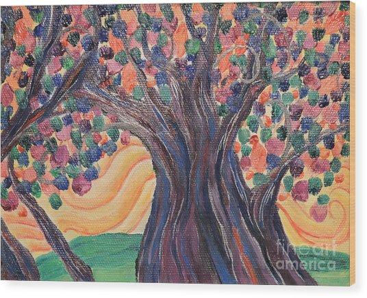 Bright Breeze Wood Print