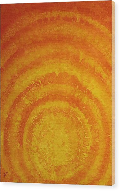 Bring The Light Original Painting Wood Print