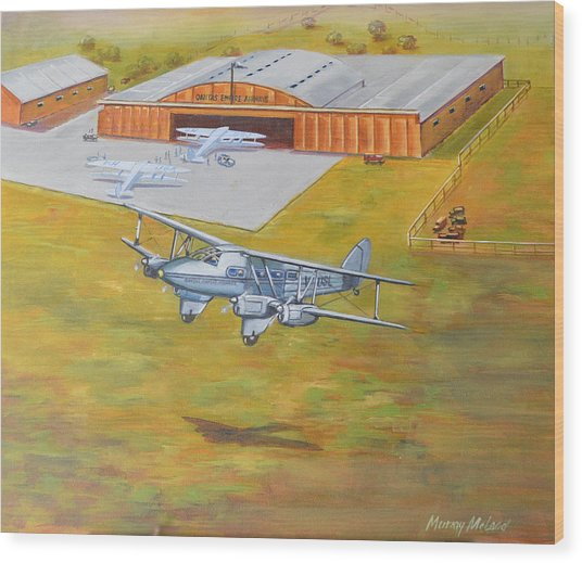 Brisbane Airport 1935 Wood Print