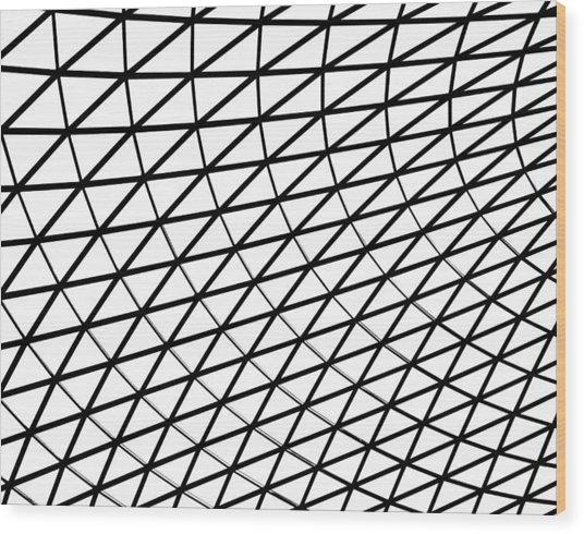 British Museum Geometry Wood Print