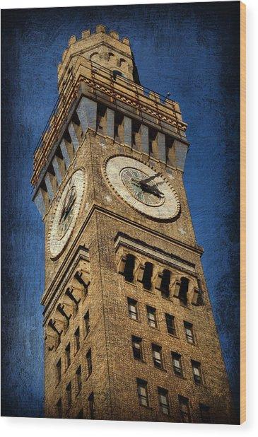 Bromo Seltzer Tower No 3 Wood Print