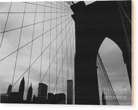 Brooklyn Bridge No.2 Wood Print