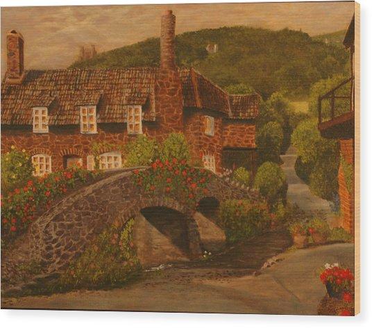 Brookstone Inn Wood Print