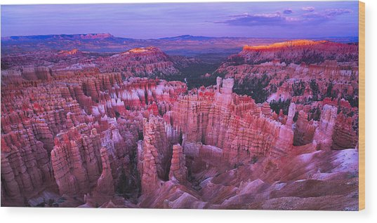 Bryce Canyon Overlook II Wood Print
