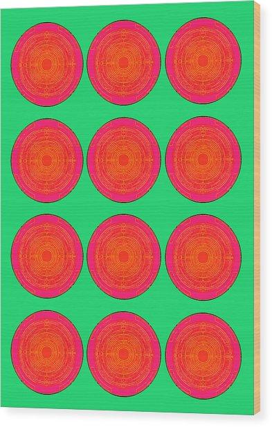 Bubbles Watermelon Warhol  By Robert R Wood Print