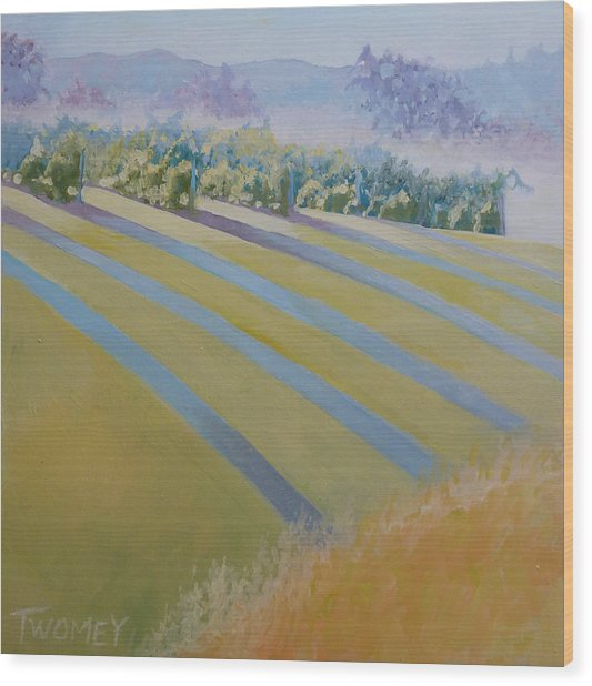 Buck Mountain Vineyards No.2 Wood Print