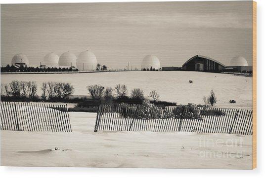 Buckley Landscape Wood Print