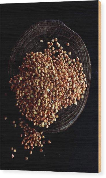 Buckwheat Grouts Wood Print