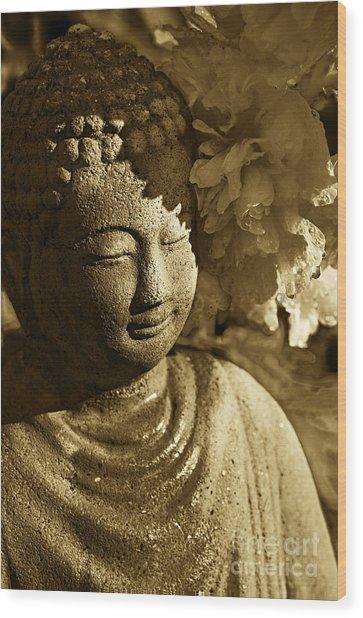Buddha's Kiss Wood Print