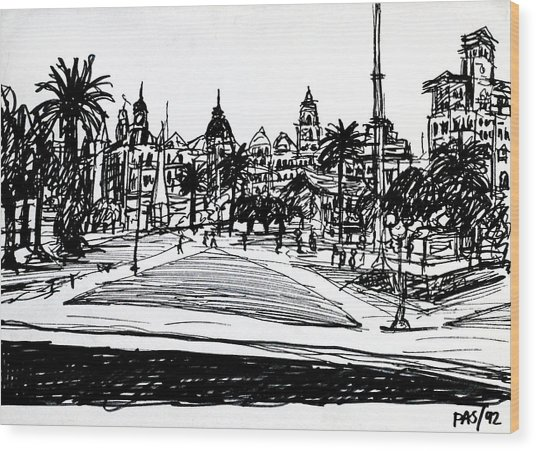 Buenos Aires Argentina  Wood Print