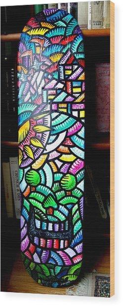 Buenos Dias De Los Muertos 2010 Wood Print