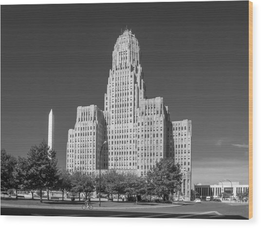 Buffalo City Hall 0519b Wood Print