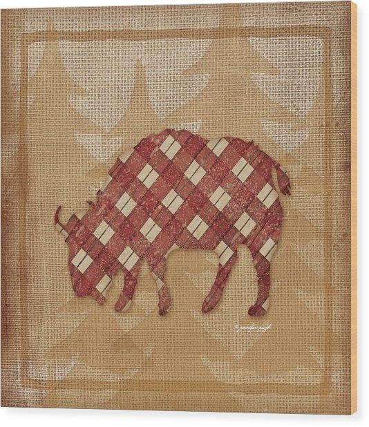 Buffalo Plaid Wood Print