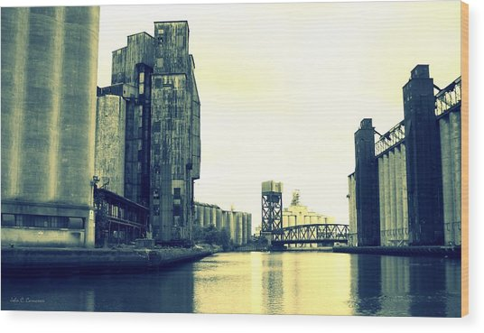 Buffalo River Wood Print by John Carncross