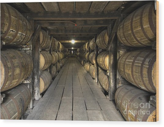 Buffalo Trace Rick House - D008610 Wood Print