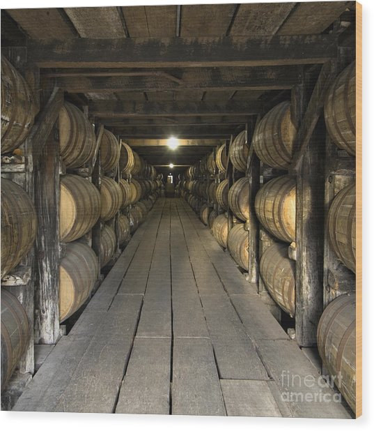 Buffalo Trace Rick House - D008610sq Wood Print