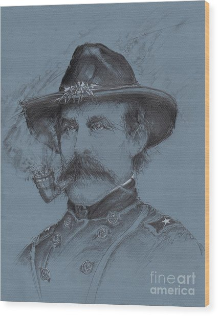 Buford's Stand Wood Print