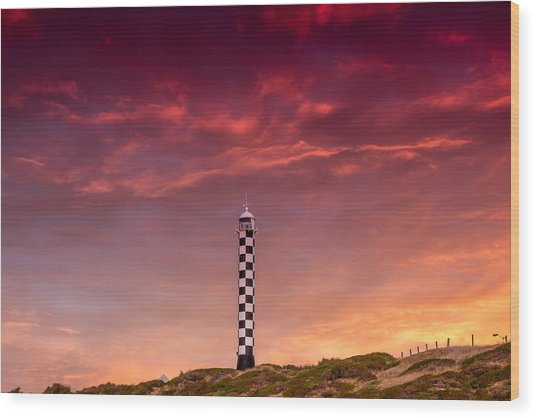 Bunbury Lighthouse Wood Print