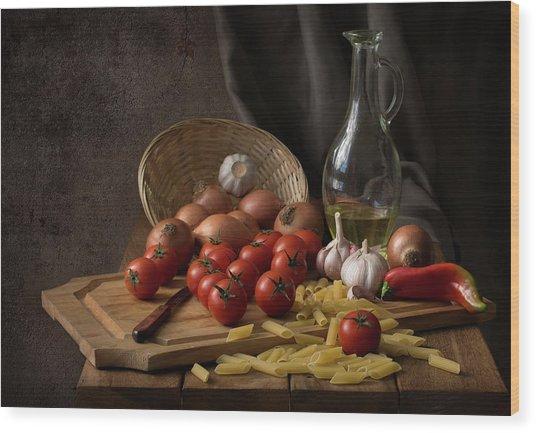 Buon Appetito... Wood Print