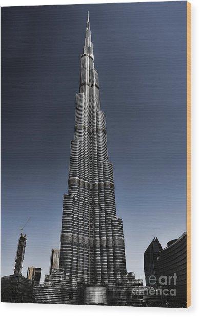 Burj Khalifa 3 Wood Print by Graham Taylor