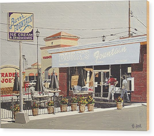 Burr's On Folsom Boulevard Wood Print by Paul Guyer