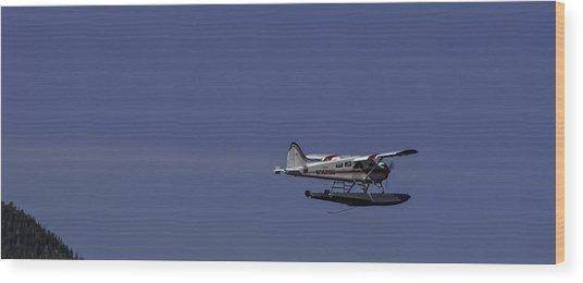 Bush Plane 001 Wood Print