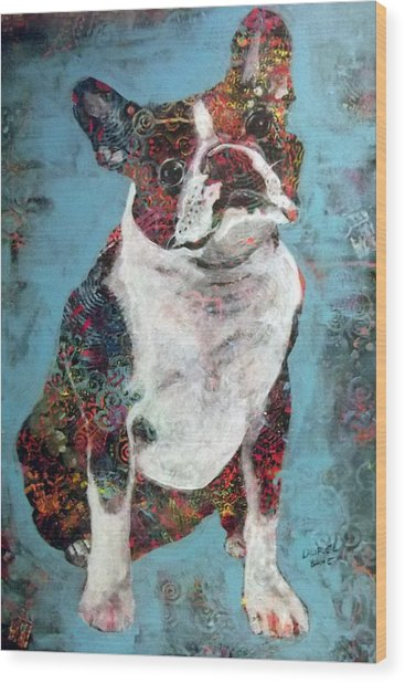 Buster Wood Print