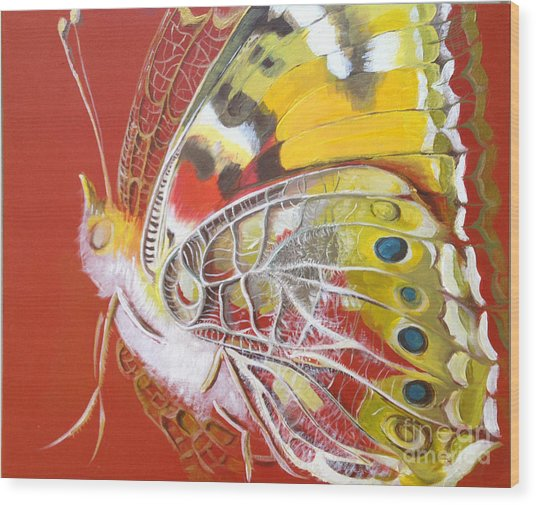 Butterfly Basic Wood Print