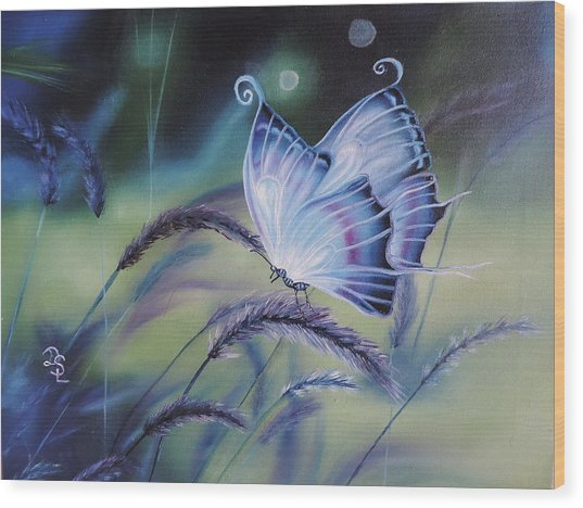 Butterfly Series #3 Wood Print