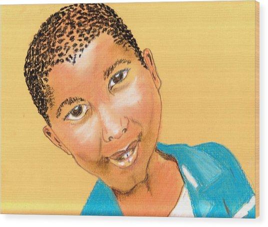 Bwana Wood Print