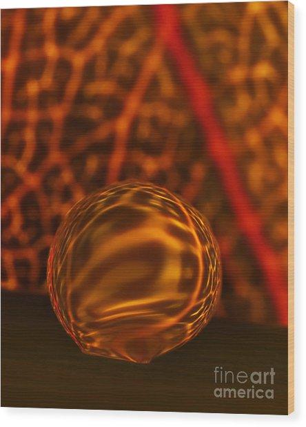 C Ribet Orbscape 1071cc Wood Print