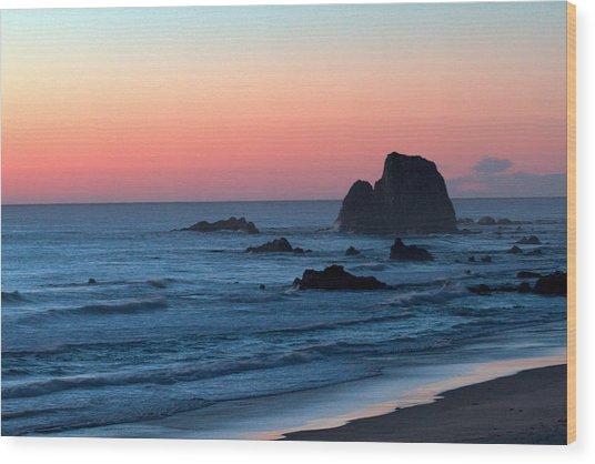 Cable Beach Dusk Wood Print