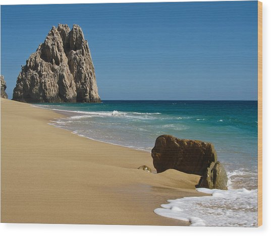 Cabo San Lucas Beach 1 Wood Print