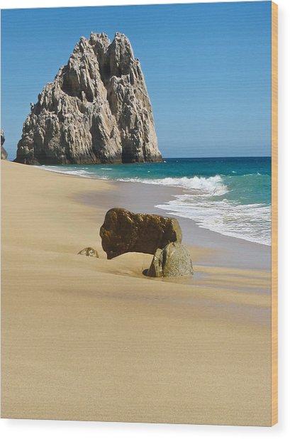 Cabo San Lucas Beach 2 Wood Print