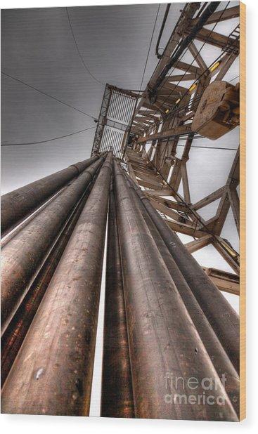 Cac001-55 Wood Print