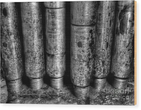 Cac001bw-11 Wood Print