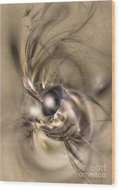 Caelestis - Abstract Art Wood Print