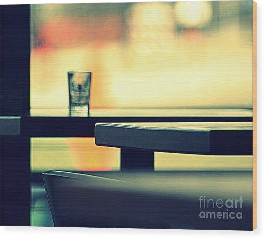 Cafe II Wood Print